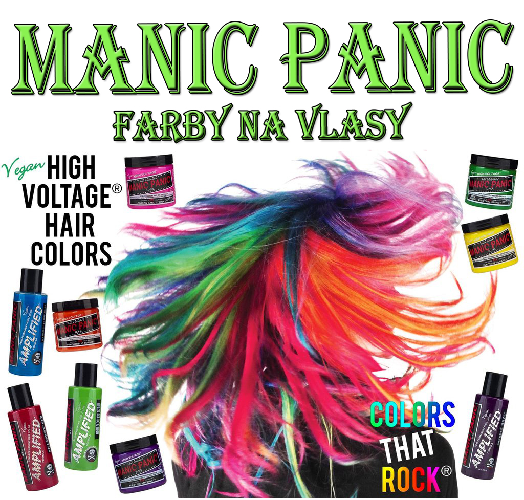 MANIC PANIC - farby na vlasy v SpikeStreetShope 79608bac59c