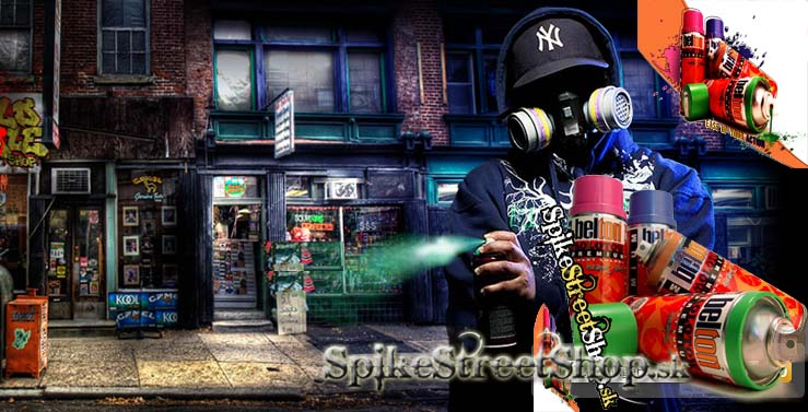 MOLOTOW - spray na graffiti v SpikeStreetShop.sk