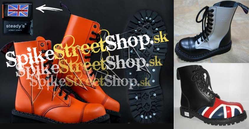 Kožené topánky STEADYS