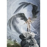 FANTASY MOTIVES - Angel On The Rock - puzzle