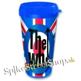 Hrnček THE WHO - Travel Mug - UK Flag (Výpredaj)