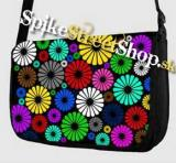 Retro taška FLOWER EVOLUTION - Colour Flowers Street Bag