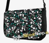 Retro taška FLOWER EVOLUTION - Meadow Flowers Street Bag