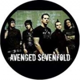 AVENGED SEVENFOLD - Band - odznak