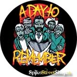 A DAY TO REMEMBER - Halloween - odznak