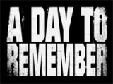 Samolepka A DAY TO REMEMBER - White Logo