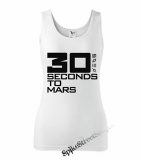 30 SECONDS TO MARS - Big Logo - Ladies Vest Top - biele