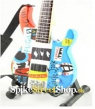 Gitara FLEA - FENDER PSYCHEDELIC JAZZ BASS - Mini Guitar USA