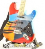 Gitara ERIC CLAPTON - FENDER STRATO. CRASH 3 - Mini Guitar USA
