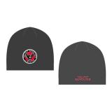 11e9a72a0 Zimná čiapka so šiltom VELVET REVOLVER - Patched Black Red Beanie