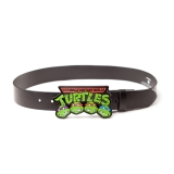 TEENAGE MUTANT NINJA TURTLES - Belt With Retro Logo Buckle - opasok s prackou