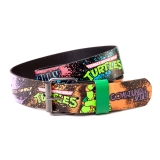 TEENAGE MUTANT NINJA TURTLES - Turtles Graffiti Printed Belt - opasok