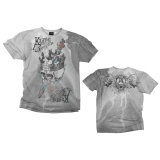 ALCHEMY - Kings Ashes Grey Vintage T-shirt - pánske tričko