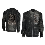 ALCHEMY - All Dug Up Jamaica Mens Zip Hoodie - pánska mikina