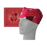 HAPPY TREE FRIENDS - Red&Pink Bandana - červená bandana šatka