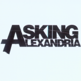 Samolepka ASKING ALEXANDRIA - Black Logo on White
