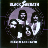 Samolepka BLACK SABBATH - Heaven and Earth