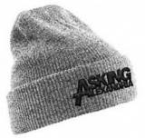 ASKING ALEXANDRIA - Logo Grey Knitted Ski Hat - zimná čiapka