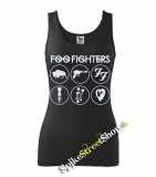 FOO FIGHTERS - Albums - Ladies Vest Top