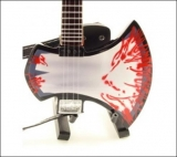 Gitara GENE SIMMONS - Gene Blood Axe Bass - Mini Guitar USA