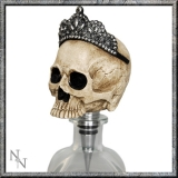 GOTHIC COLLECTION - Princess Skull Stopper 15cm (P6) - zátka na fľaše
