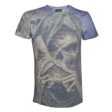 ALCHEMY - Reapers Ave Health Military Green T-Shirt - pánske tričko