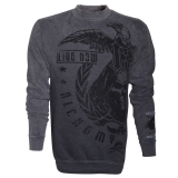 ALCHEMY - Sweet Shirt Skull Army grey Calipo - pánska mikina