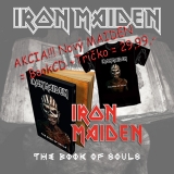 IRON MAIDEN - The Book Of Souls (De Luxe CD + Tričko)