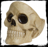 GOTHIC COLLECTION - Skull Ashtray 9.5cm (Pack of2) - popolník