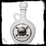 GOTHIC COLLECTION - Absyinth Bottle 21cm Glazed - nádoba