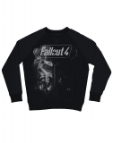 FALLOUT 4 - Brotherhood of the Steel Sweater - čierny pánsky sveter