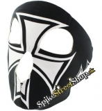 CROSS - B&W Maltese Cross - maska