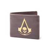 ASSASSINS CREED III - Wallet With Golden Logo - peňaženka