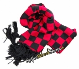RED BLACK SKA - Beanie & Scarf & Gloves - zimná sada