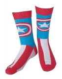 MARVEL COMICS - Captain America Stars And Stripes Socks - ponožky