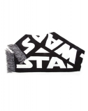 STAR WARS - White Star Wars Logo on Black Scarf - šál