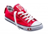Tenisky WEST COAST CHOPPERS - Warrior Low Top Red