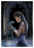 ANNE STOKES - Water Dragon - vlajka