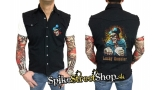 BIKER COLLECTION - Lucky Gambler Worker Shirt - košela bez rukávov