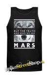 30 SECONDS TO MARS - Wolf - Mens Vest Tank Top - čierne