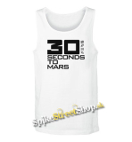 30 SECONDS TO MARS - Big Logo - Mens Vest Tank Top - biele