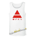 30 SECONDS TO MARS - Red Triad - Mens Vest Tank Top - biele
