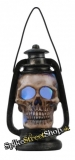 GOTHIC COLLECTION - Skull Shaped Oil Lamp With Light - lampa