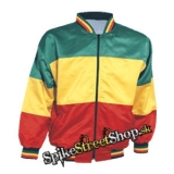 RASTA - Rasta Colour Satin Bomber Jacket  - bunda