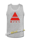 30 SECONDS TO MARS - Red Triad - Mens Vest Tank Top - šedé