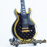 Gitara AVENGED SEVENFOLD - VENGEANCE ZACKY SCHECTER GOLD V CUS - Mini Guitar USA