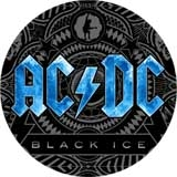 AC/DC - Black Ice - blue motive - odznak