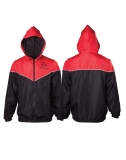 ASSASSINS CREED - Red/black Windbreaker Jacket - čierna pánska bunda