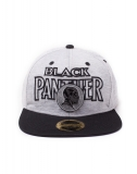 BLACK PANTHER - Metal Badge Embroidery Snapback Cap - šiltovka