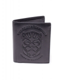 BLACK PANTHER - Debossed Leather Trifold Wallet - peňaženka